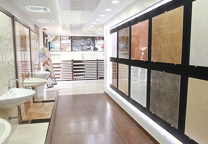 Bathroom Tiles Showroom With Original Style