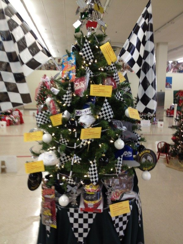 2012 We Care Trees Racing Tree 1 | Racing | Pinterest | Xmas tree ...