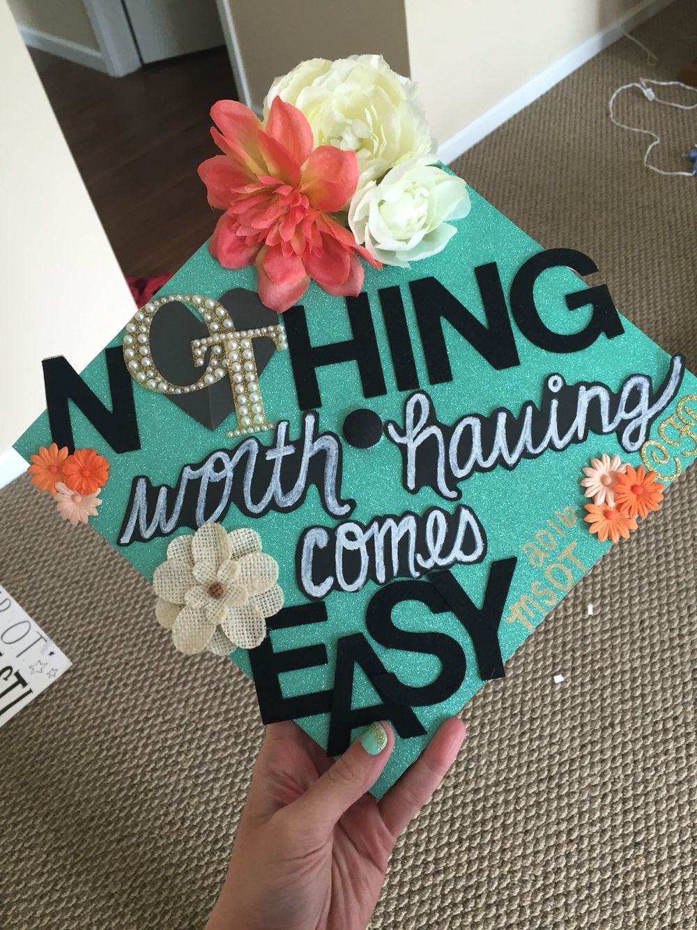 My graduation cap!!! #occupationaltherapy # ...