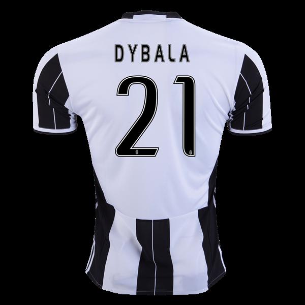 433138af34f Juventus 16 17 DYBALA Home Soccer Jersey - WorldSoccershop.com