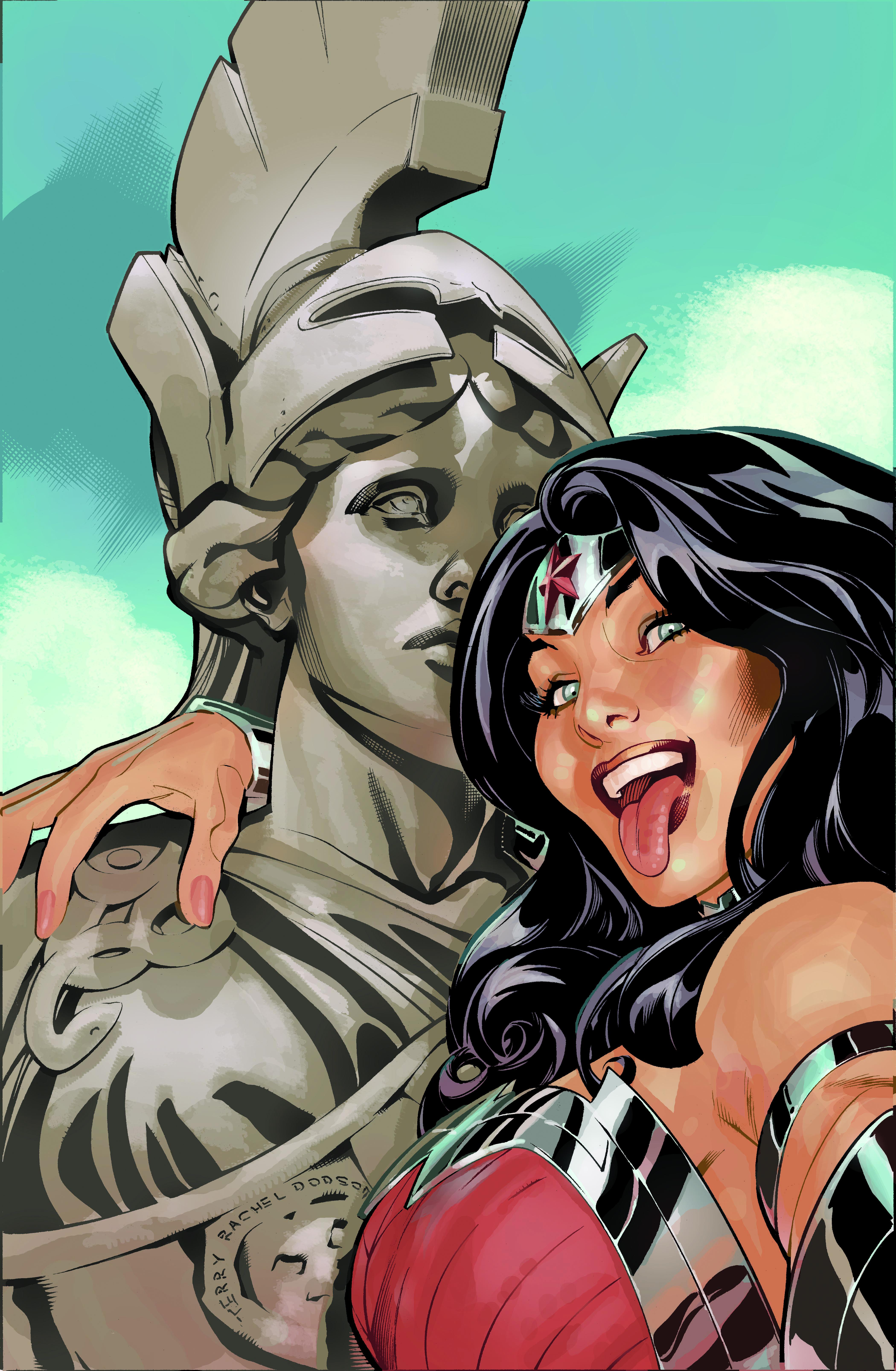 DC Comics Selfie variants Wonder Woman #34 | wonderwoman | Pinterest ...
