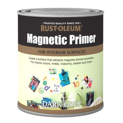 Can I Put Chalkboard Paint Over Magnetic Paint