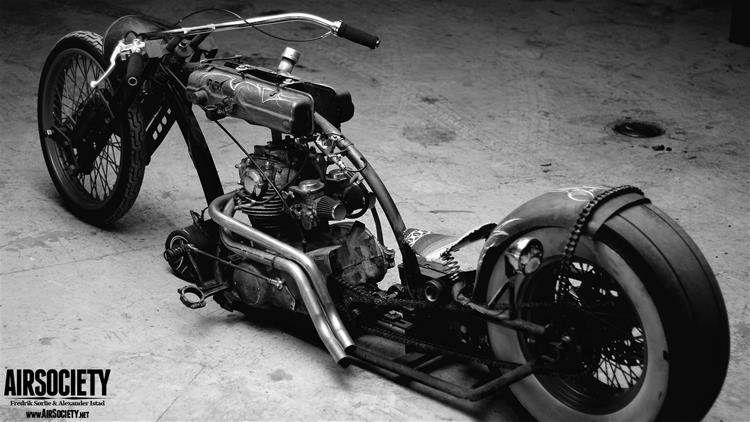 Pin By J L S On Rat Rod Choppers Bikes Pinterest Chopper