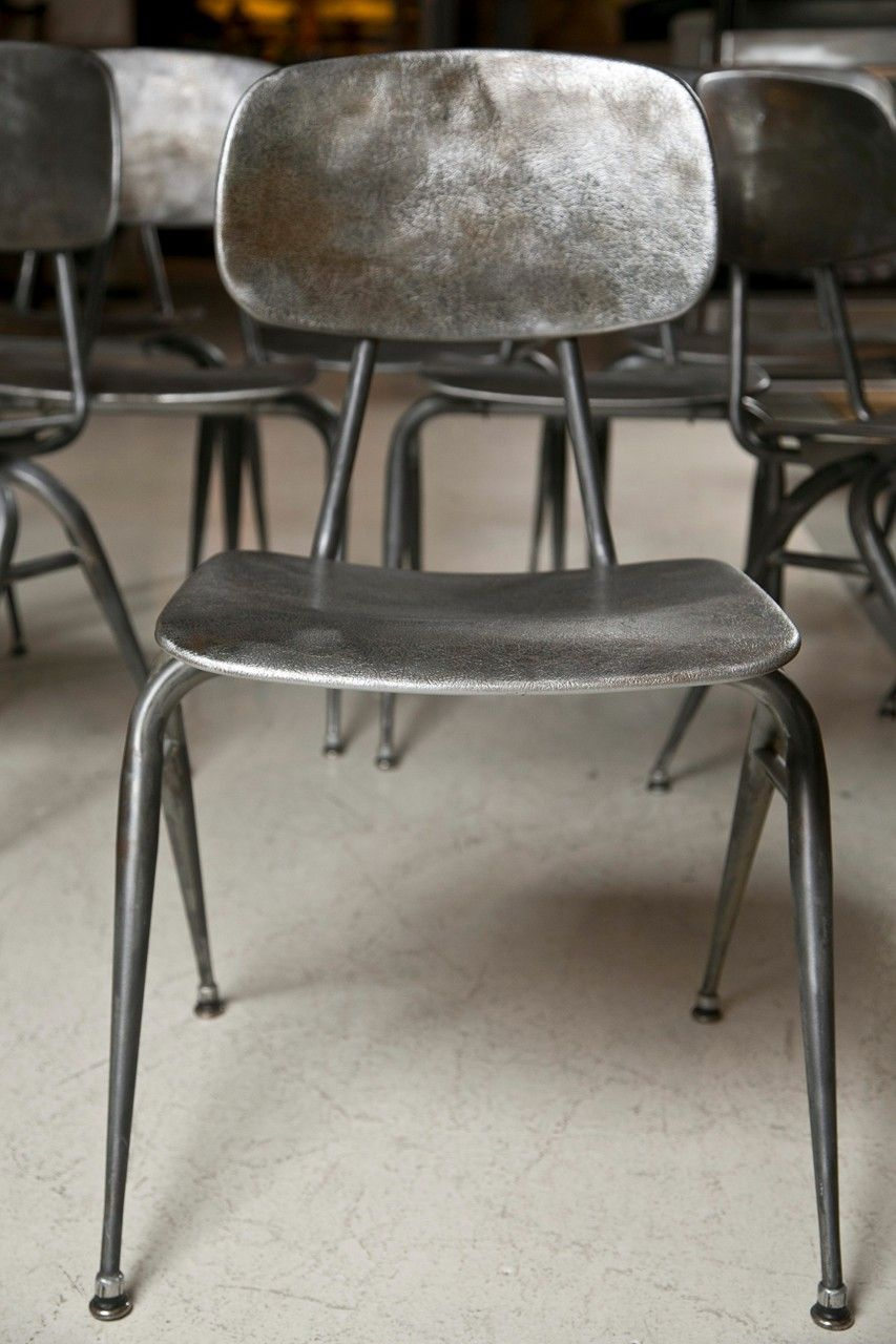 Mid Century Modern Metal Chairs Modern Restaurant Design Metal