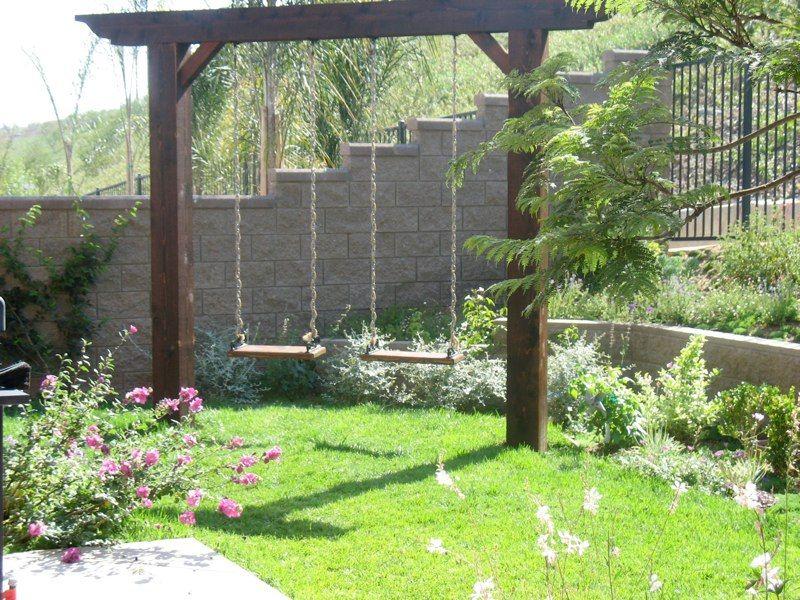 Family Garden, La Costa — Swing Landscaping Ideas