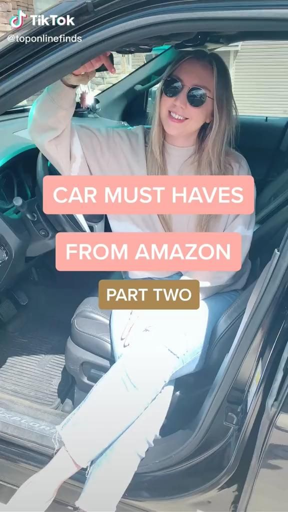 Amazon Car Must Haves