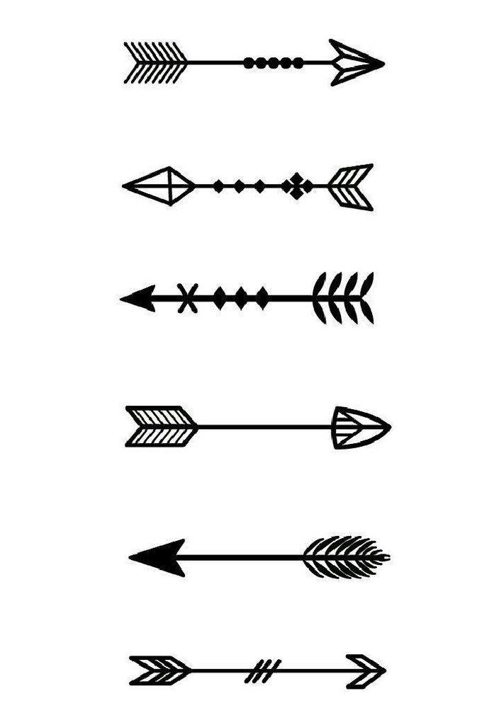 Flechas Flechas Dibujos Flechas Tipos De Flechas