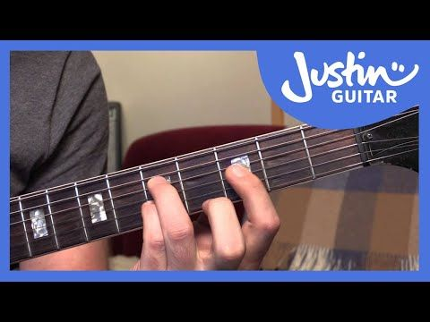 10 Basic Jazz Chords - Guitar Tutorials - JustinGuitar [JA-001 ...