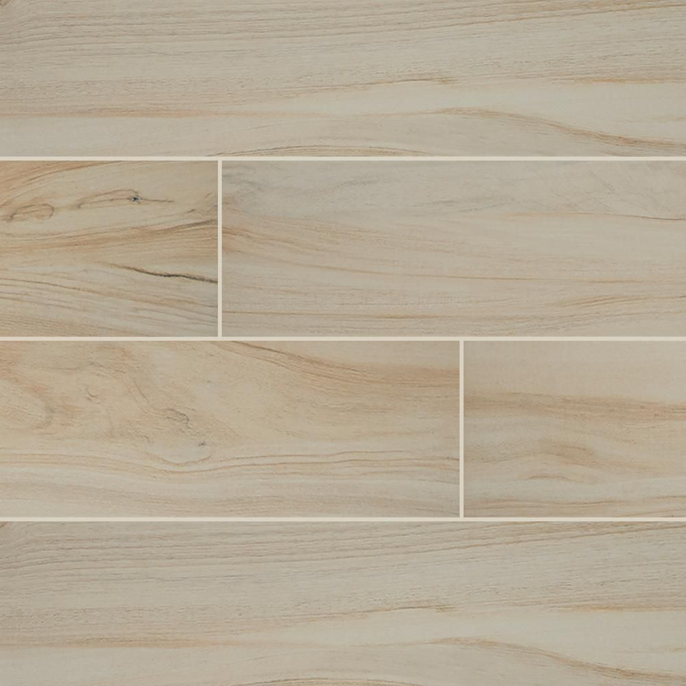 Ms International Cappuccino 12 In X 12 In Polished: MS International Aspenwood Artic 9 In. X 48 In. Glazed