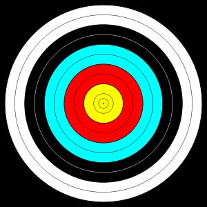 arrow in the target