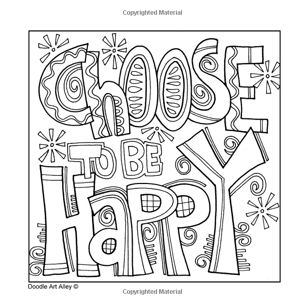 Imagination will take you everywhere doodle art alley for Doodle art alley coloring pages