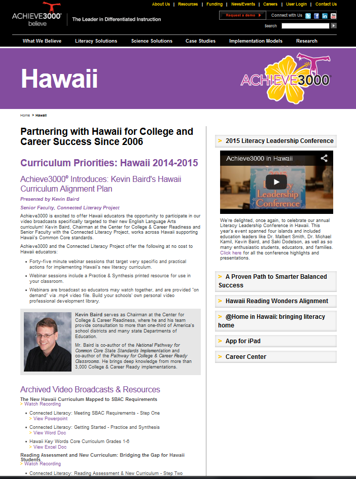 Webinars Documents Pictures Ppts Contests And More For Hawaii