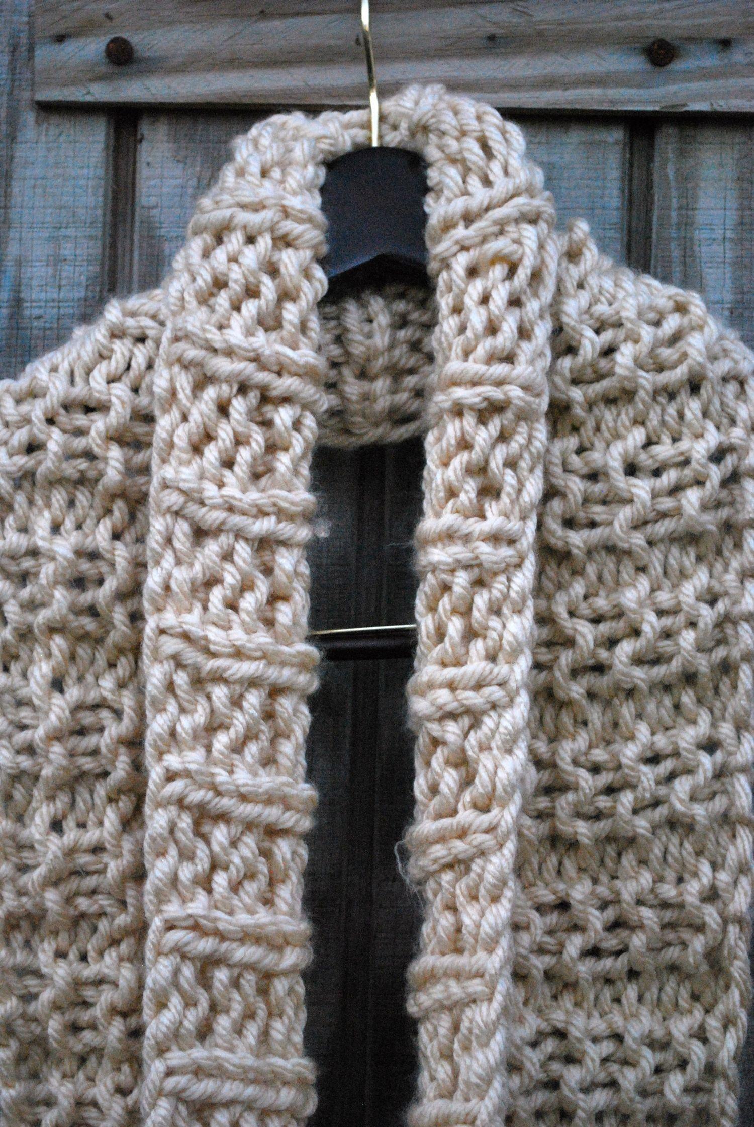 MID-DECEMBER INFINITY SCARF KNITTING PATTERN | knitting | Pinterest ...