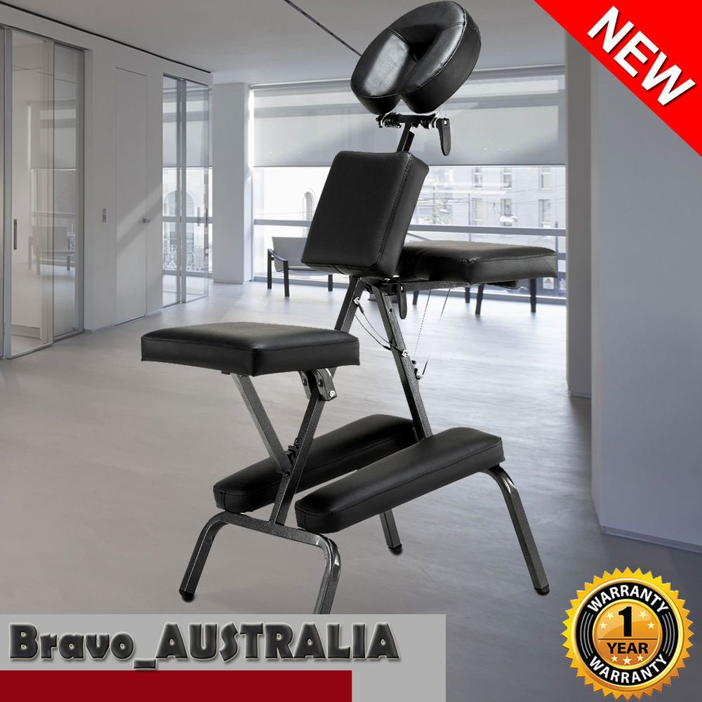 Aluminium Portable Massage Chair Table Beauty Therapy Bed