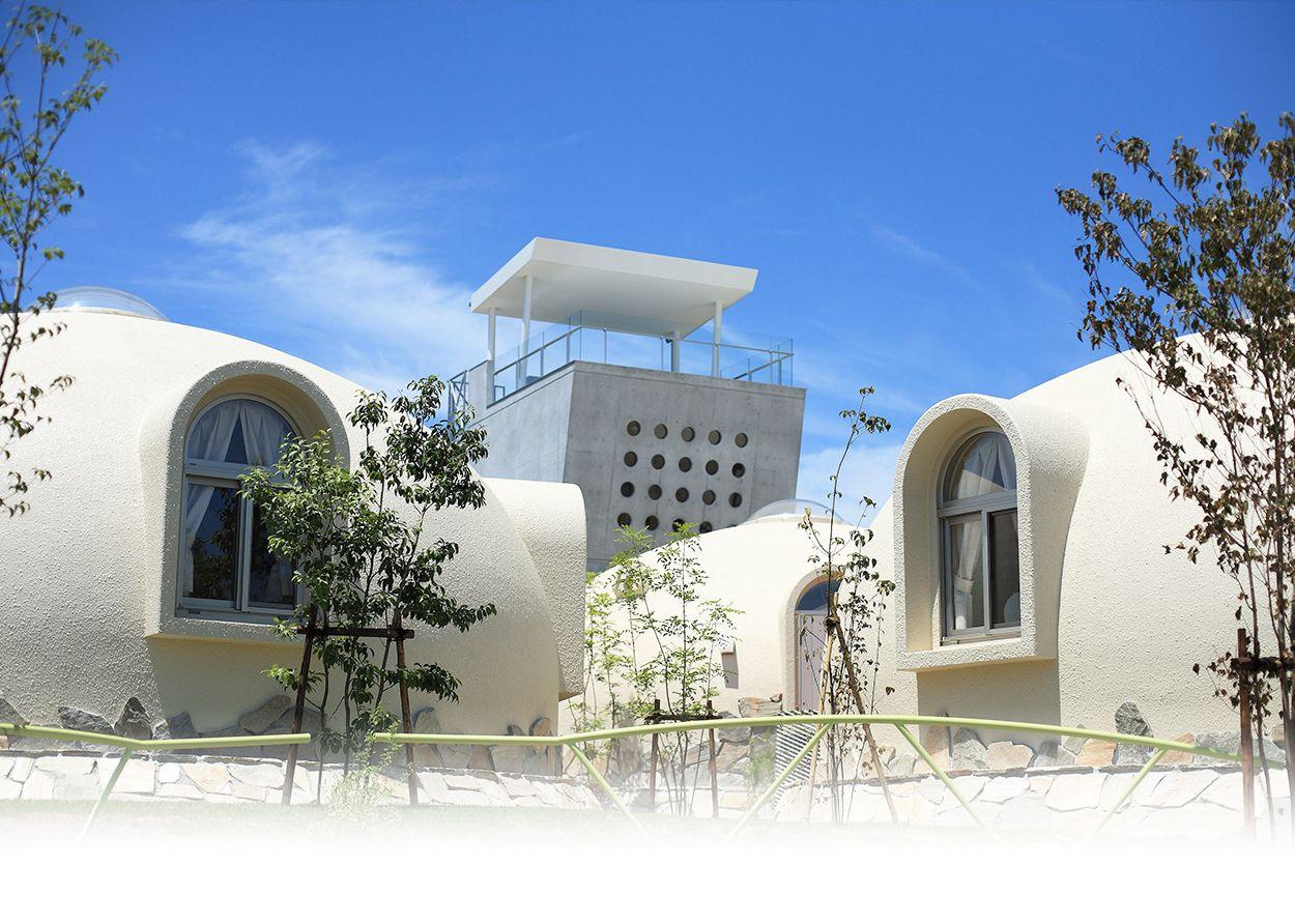 南紀白浜で宿泊ならドームハウスのとれとれヴィレッジへ ドームハウス ハウス ドーム