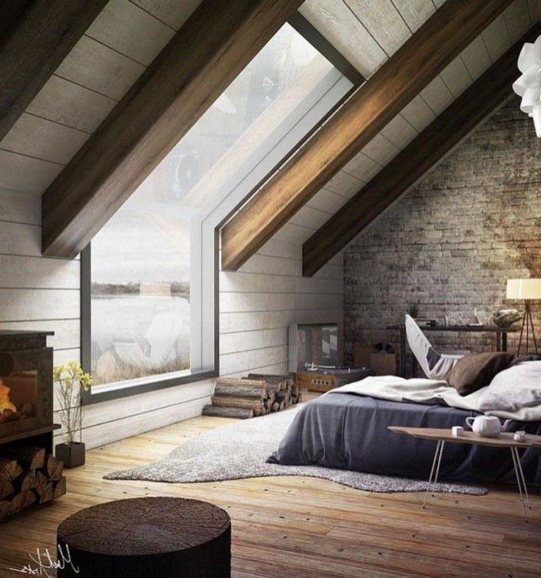 Minimalist Bedroomdesign Ideas: 41 Fabulous Attic Bedroom Project And Decor Ideas