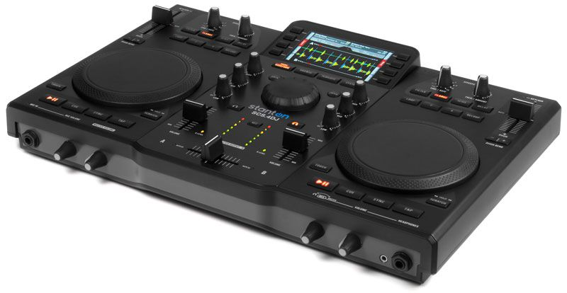 Stanton SCS 4 DJ Controller pretty good all in one    Just