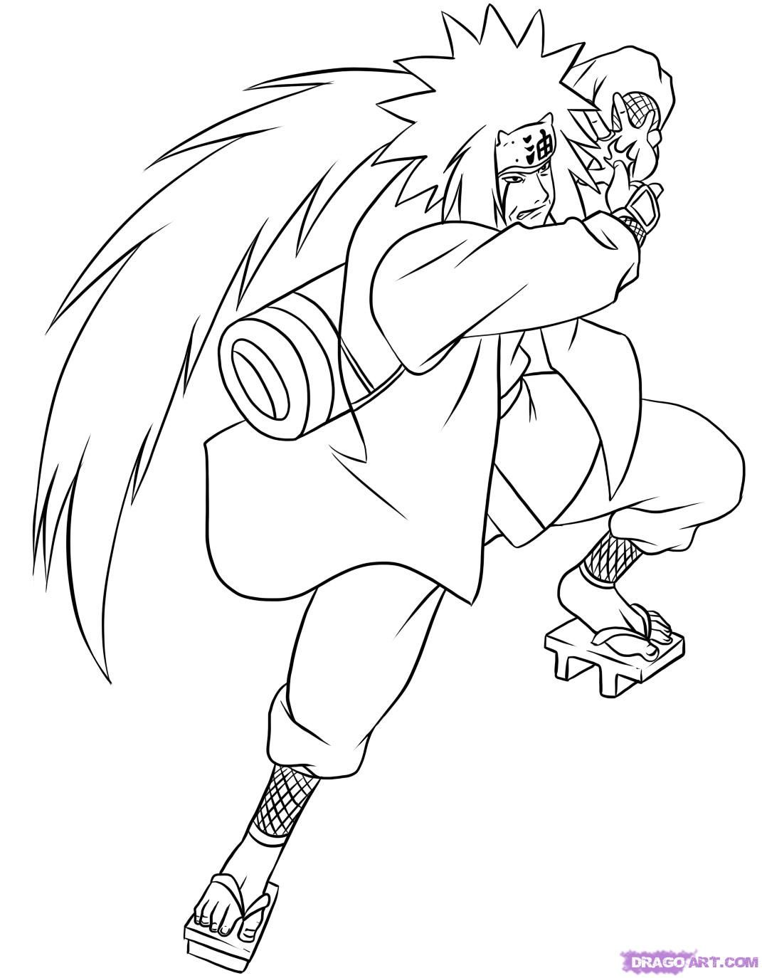 Naruto Coloring pages | Coloring Pages of Epicness | Pinterest | Malen