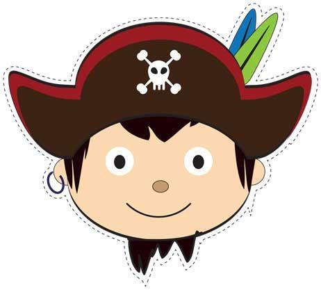 Masque de pirate à imprimer pour enfants | Pirates - Brico et Jeux ...