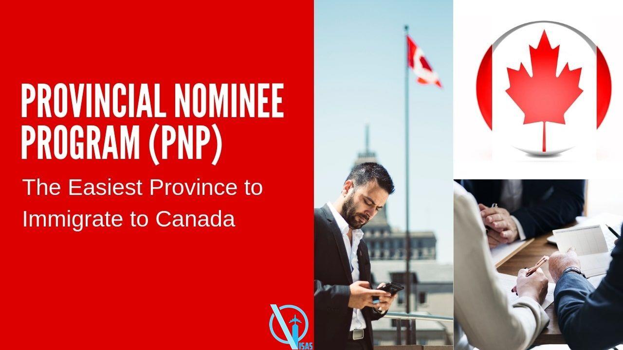 Canada immigration services provincial nominee program
