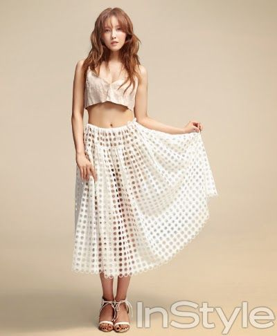 Hyomin // InStyle Korea // June 2013
