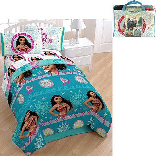 Beautiful Disney Moana Bedroom Decor, Moana Queen Size Bed Sheets