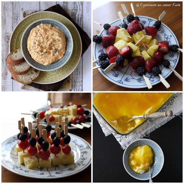 Experimente aus meiner Küche: Dips, Dessert und Deutschland-Spieße {Verpflegung für die EM 2016}