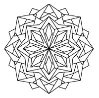 Kaleidoscope Coloring Pages The Kaleidoscope Designs In The