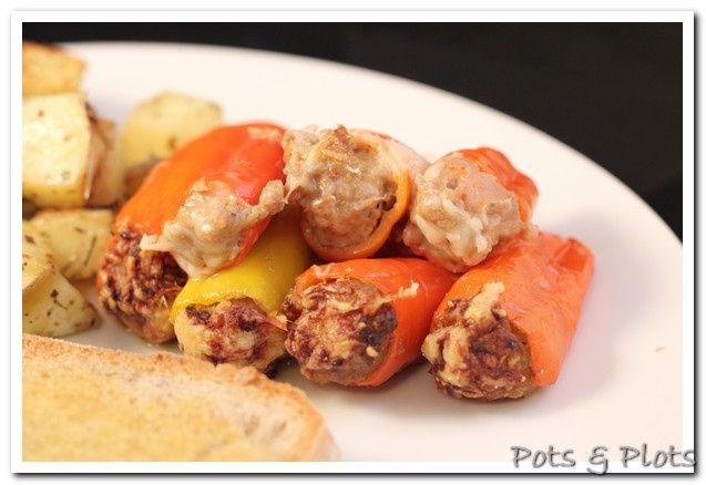 italian stuffed mini peppers