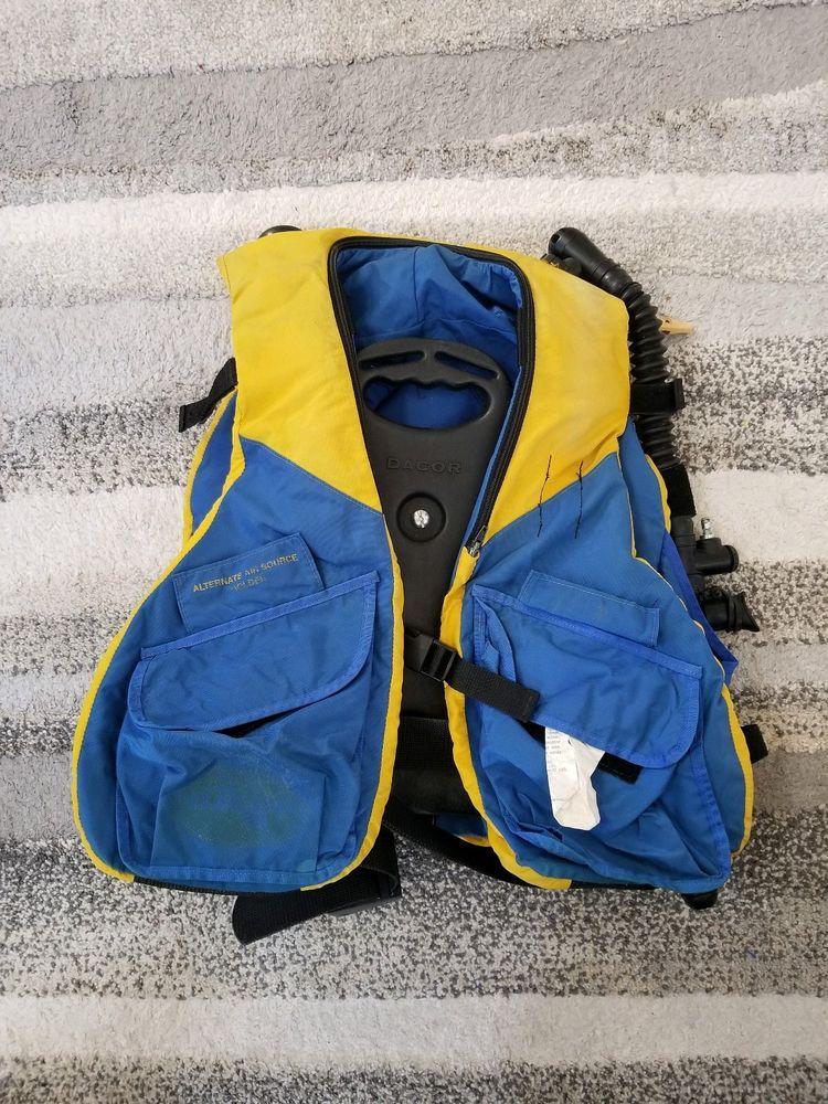 Dacor Scuba Vest Model Air Only 44lbs Scuba Dive Model 6644 00 Sz Large Ebay Link Scuba Diving Diving Scuba