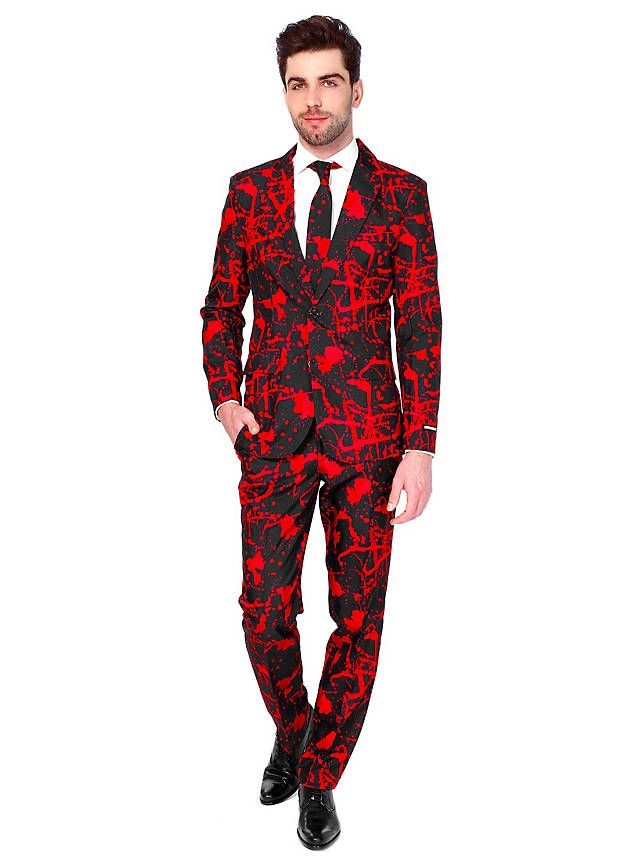 288d74f69f8e35 Suitmeister Black Blood Party Anzug  bloody  bloodysuit  suit  style   halloweencostume