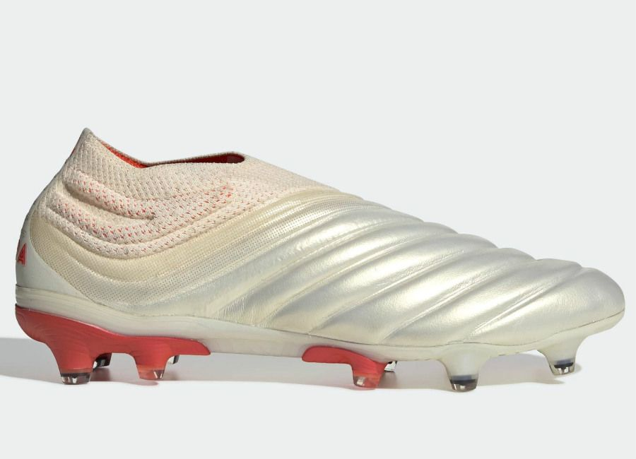 2b9934802  adidasfootball  footballboots Adidas Copa 19+ FG Initiator - Off White   Solar  Red   Off White