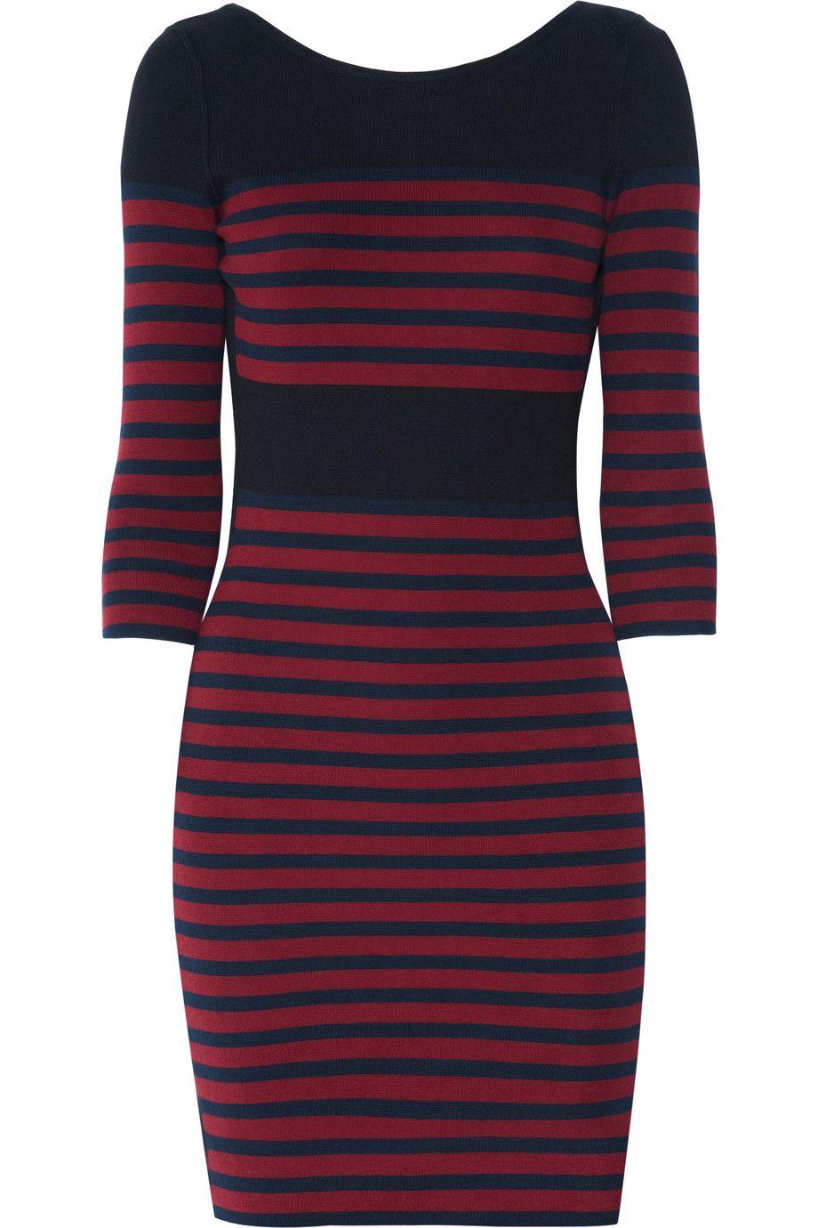 Striped dress. Sonia by Sonia Rykiel
