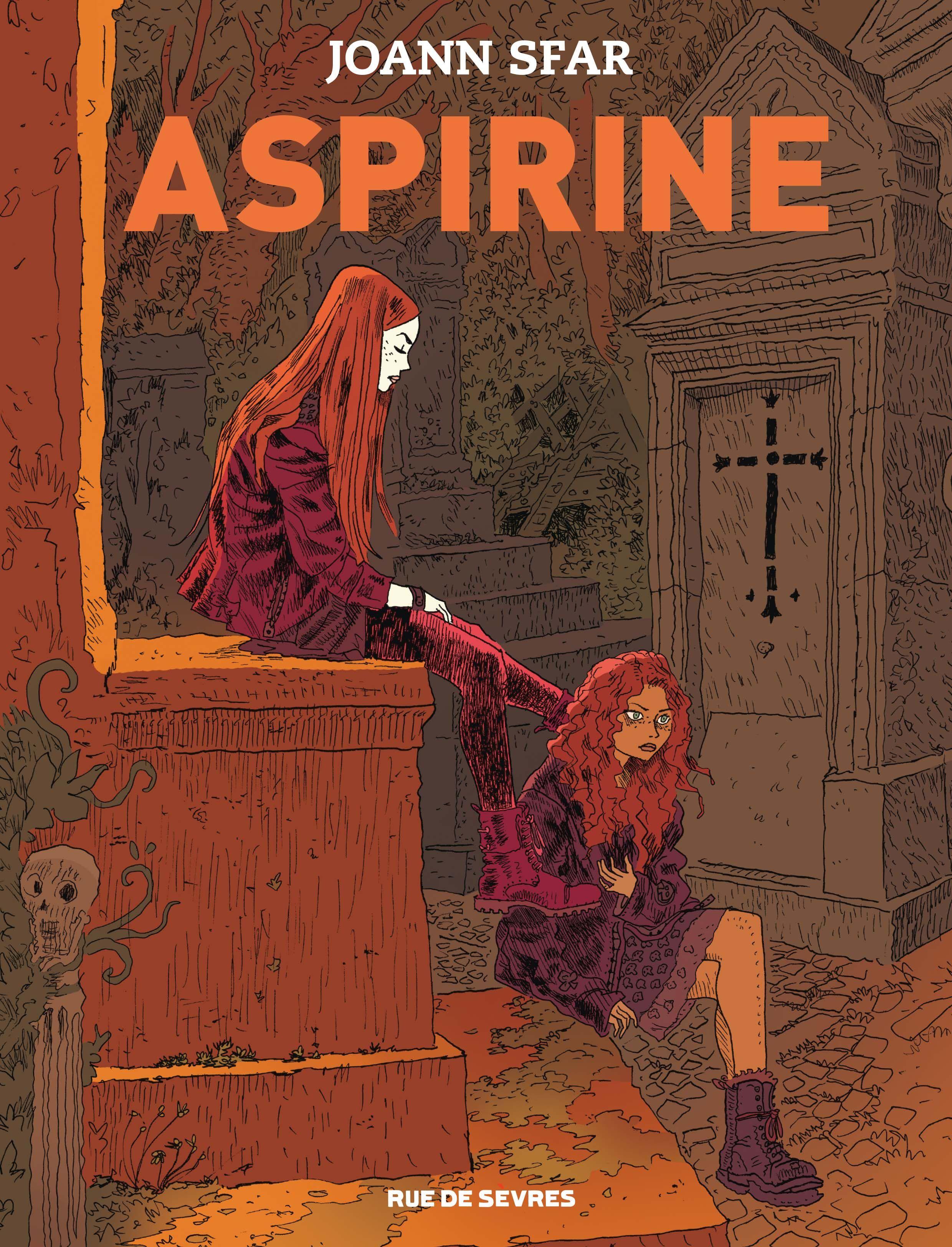 Aspirine, Sfar et sa jeune vampire parisienne Éditions Rue de Sèvres, Joann  Sfar