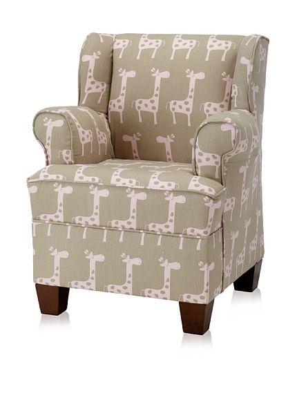 Skyline Kids Giraffe Wingback Chair! Cute!