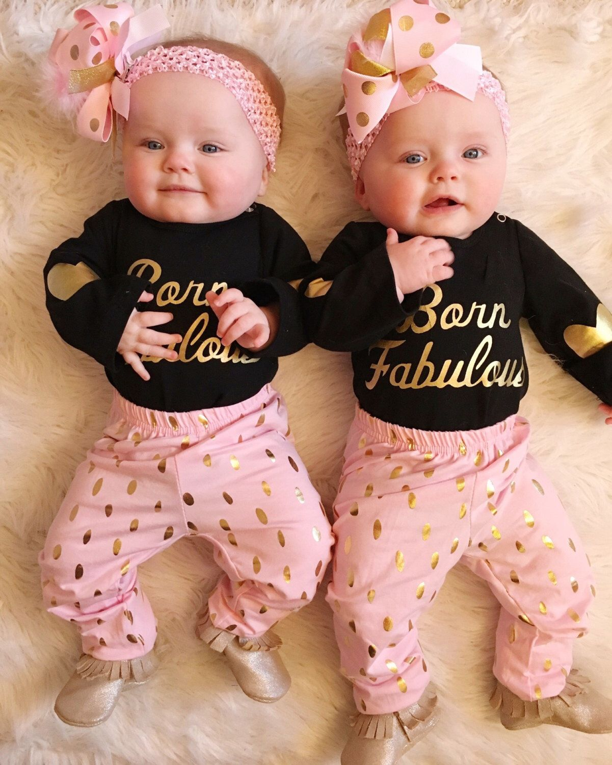Born Fabulous Outfit, Boutique Outfit, Newborn Outfit, Coming Home