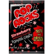 CANDY BAR - Pop Rocks Strawberry: 24 count