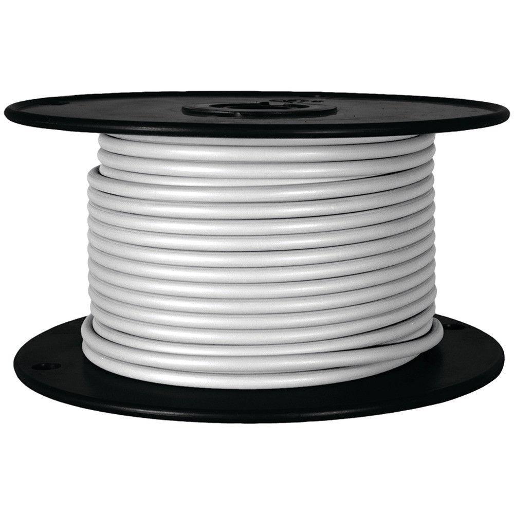 Battery Doctor Gxl Crosslink Wire 100ft Spool (18 Gauge White ...