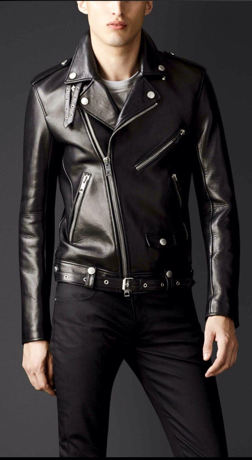 Perfect Biker Jacket Burberry Black Leather Biker Jacket Leather Jacket Leather Jacket Men [ 1482 x 811 Pixel ]