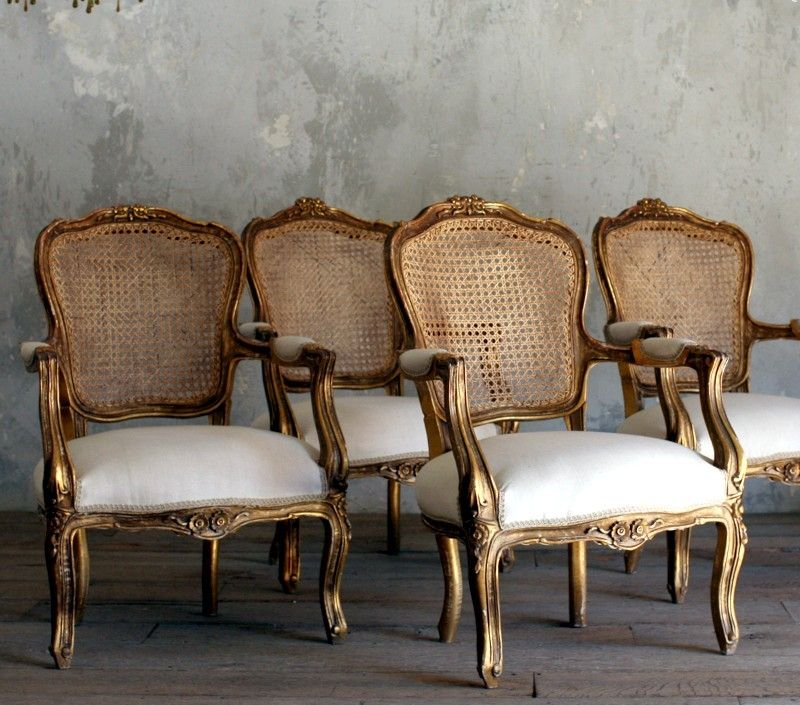 French Louis Xv Arm Chair - Foter