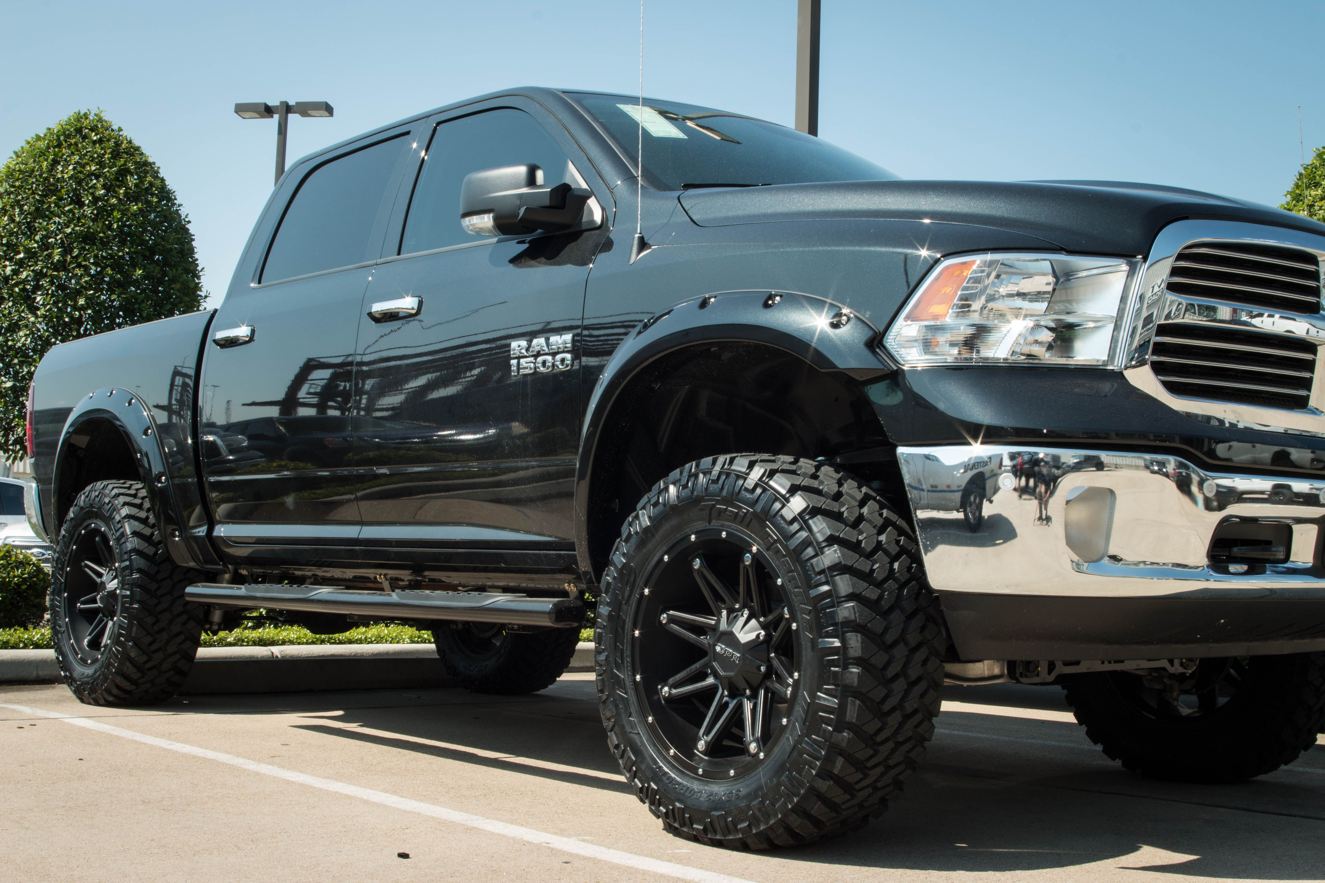 Dodge Ram 1500 Wheels And Tires Packages >> Pin By American Wheel And Tire On Awt Off Road Trucks