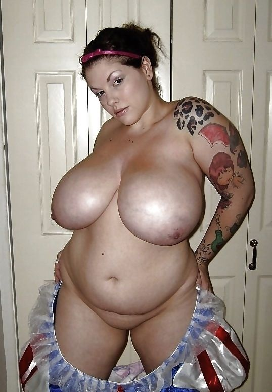 Big chubby naked gals