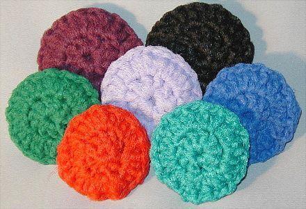 Pin on crocheted scrubbie