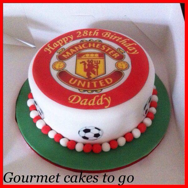 Manchester United Bespoke Birthday Cake!