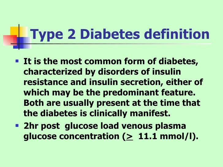 DIABETES TYPE 2 DEFINITION PDF