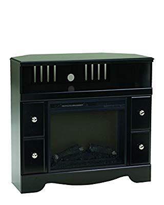 Ashley Furniture Signature Design Shay Corner Tv Stand Contemporary Black Review