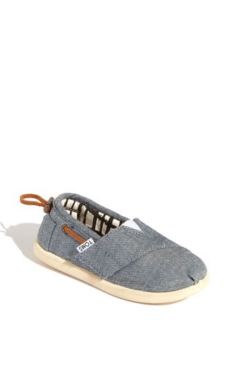 Zapatos azules Toms infantiles CCfJIF