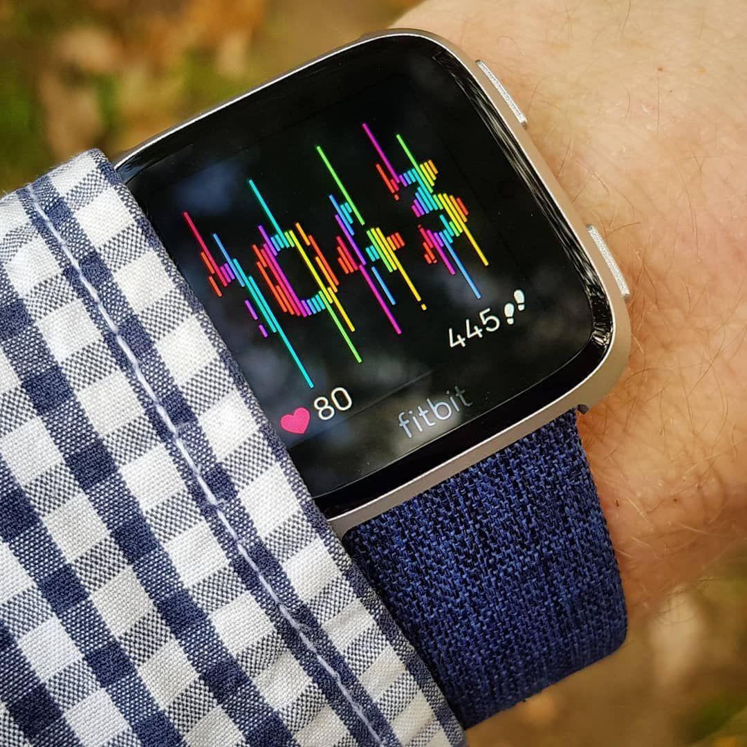 Fitbit versa watchface image by Jana Hrzinová Clock face
