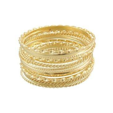 pulseiras dourada.