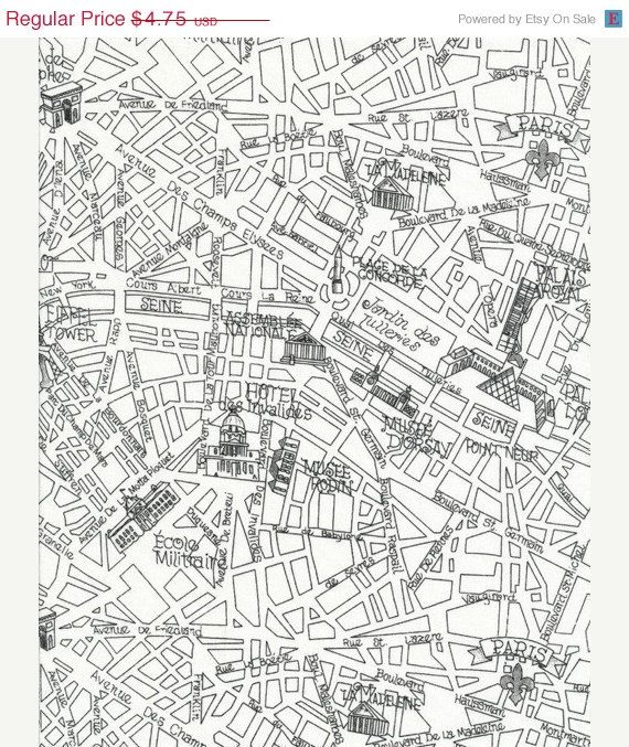Paris Map Fabric Things I Love Pinterest Paris Map And Black - Paris map fabric
